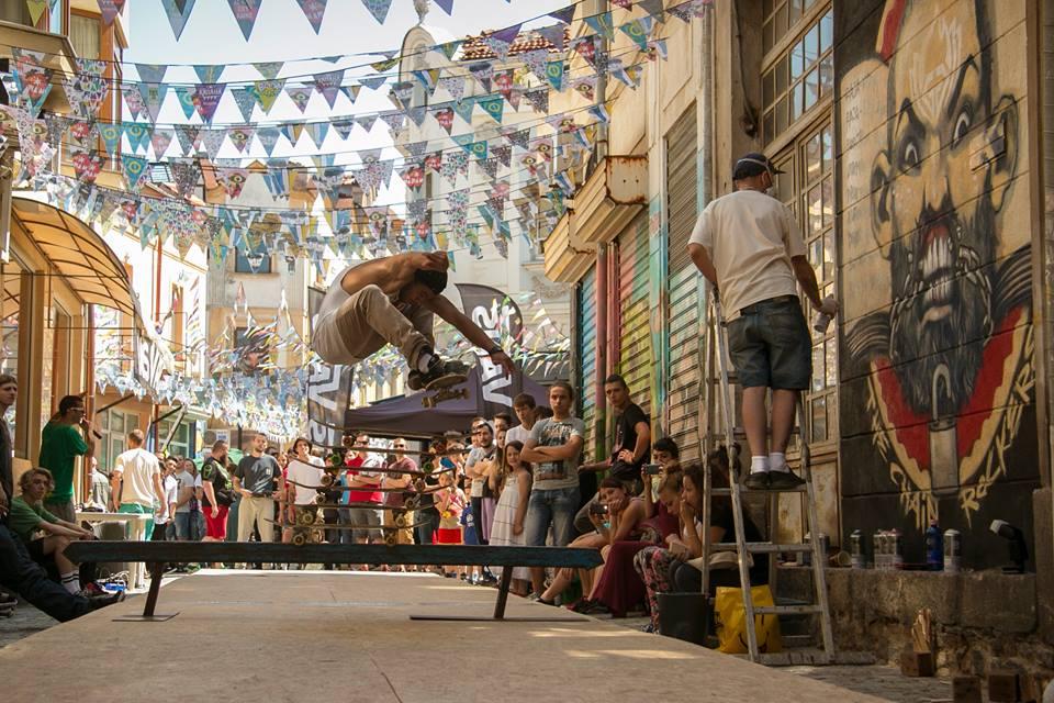 Видето от VANS Highest Ollie & Best Trick Contest - Пловдив