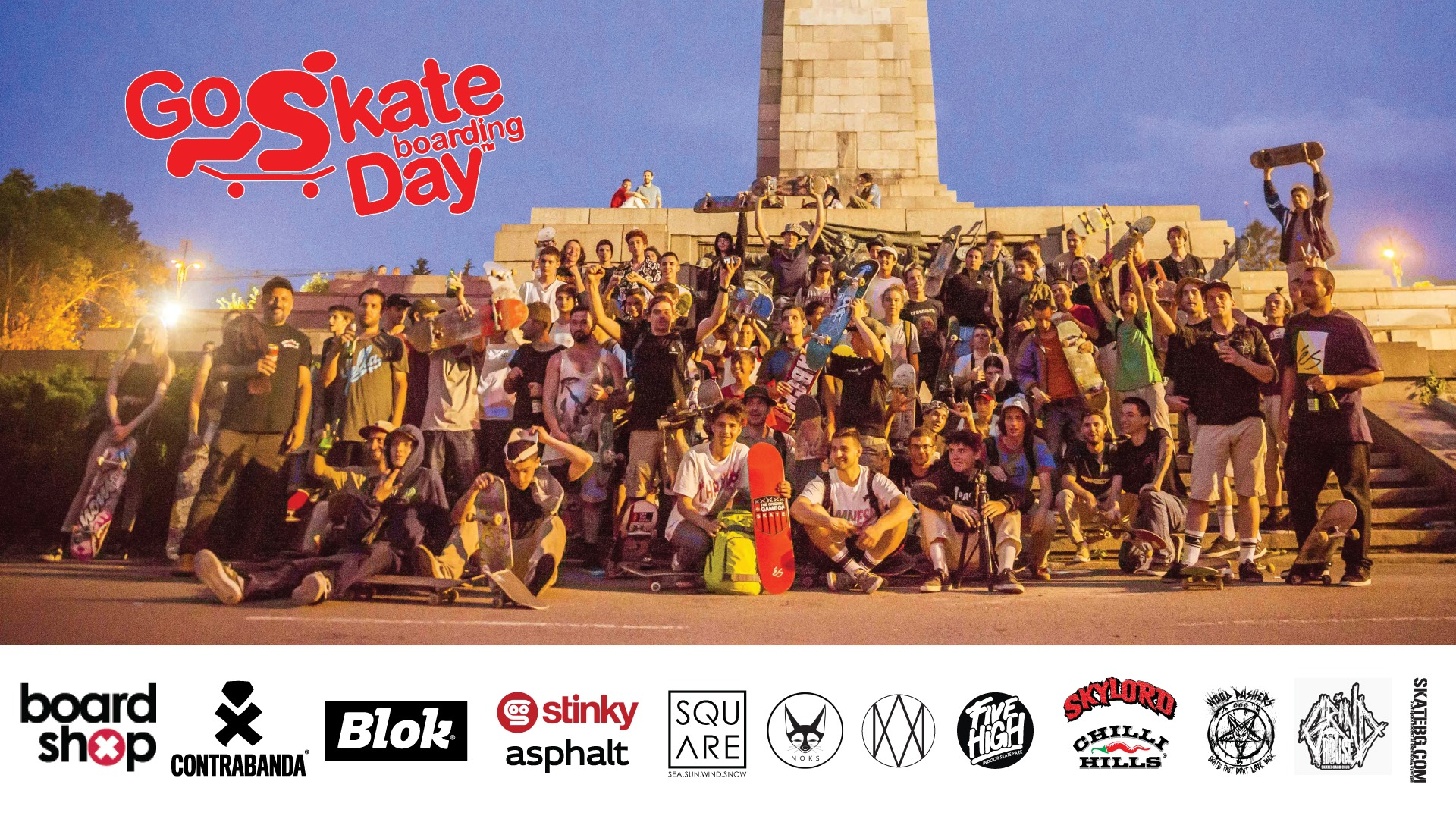 Go Skateboarding Day Sofia 2020