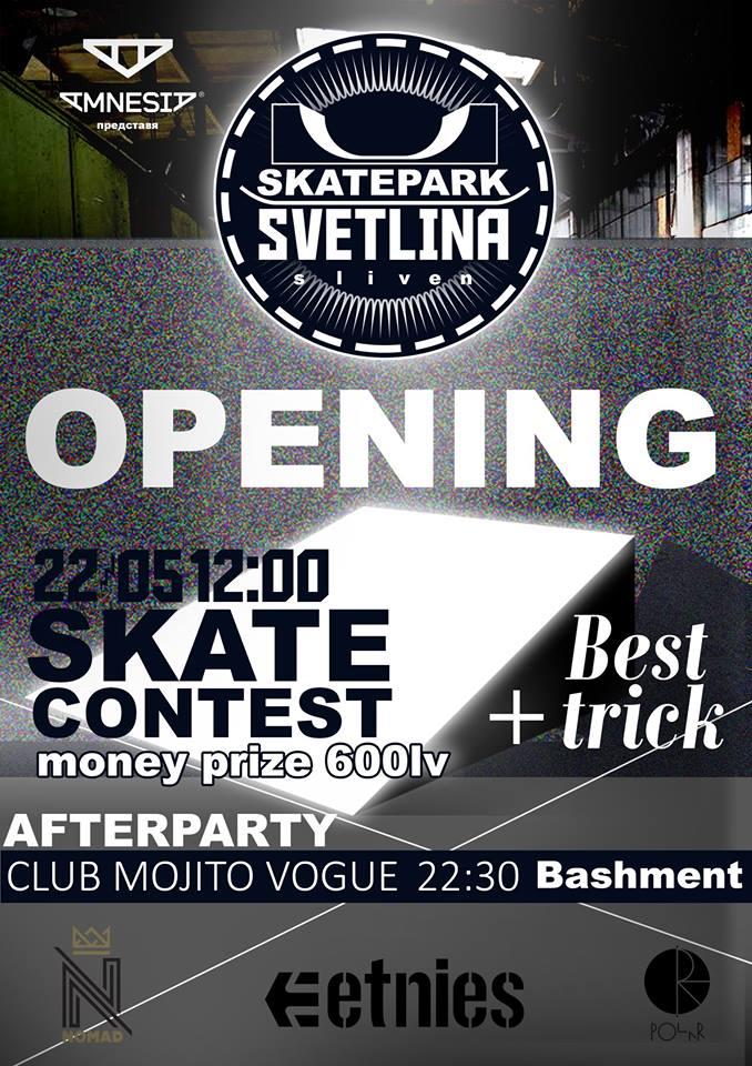 Skatepark Svetlina Opening!