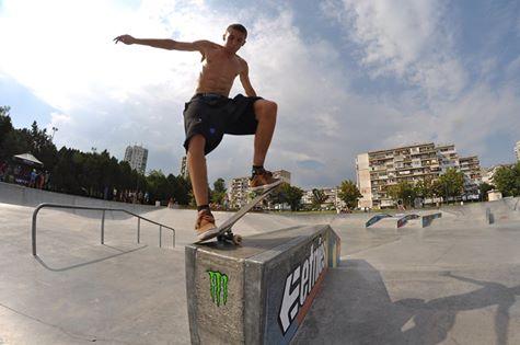 Burgas Skate Open - видео