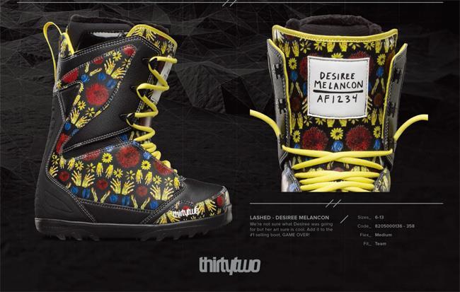 Борд обувките на Дезире Меланкон