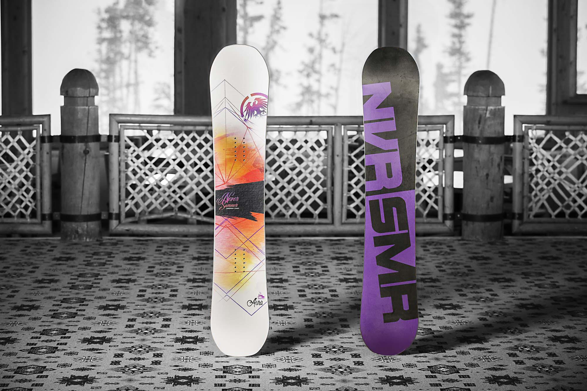 Новите сноубордове на Never Summer са тук