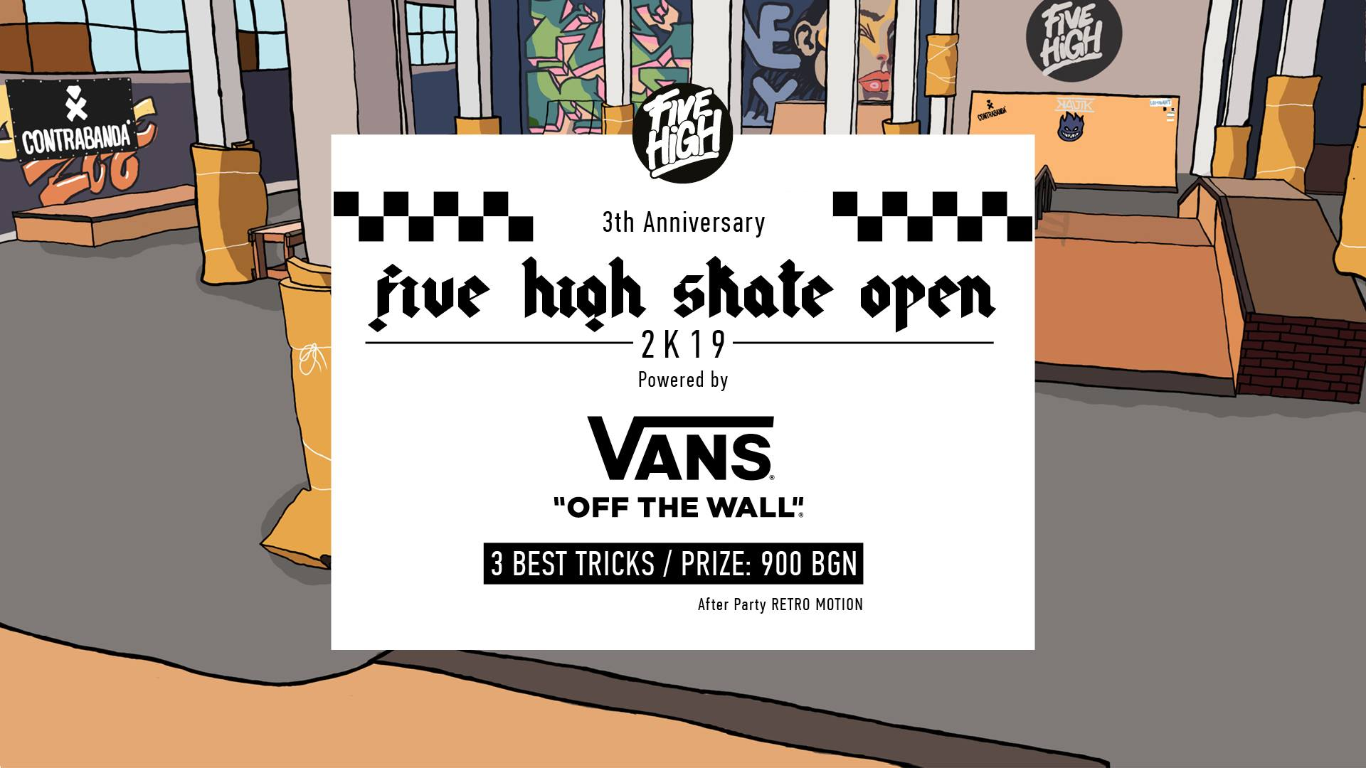 Five High SKATE OPEN 2K19