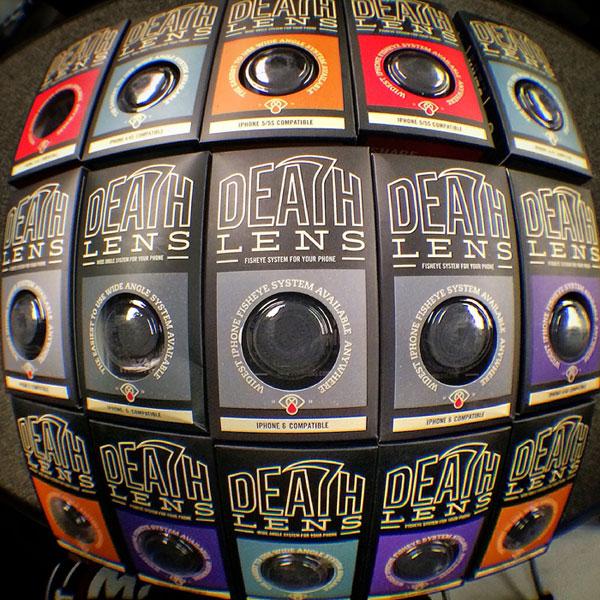 Fisheye и Wide Angle кейсовете на Death Lens в Contrabanda