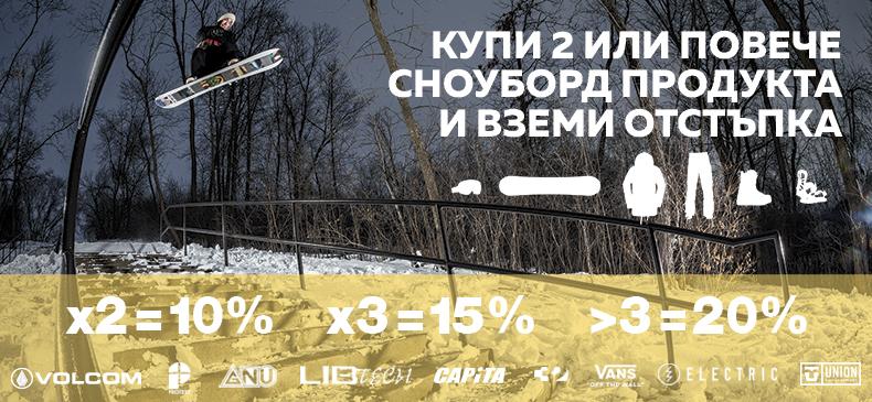 Поготви се за новия сноуборд сезон
