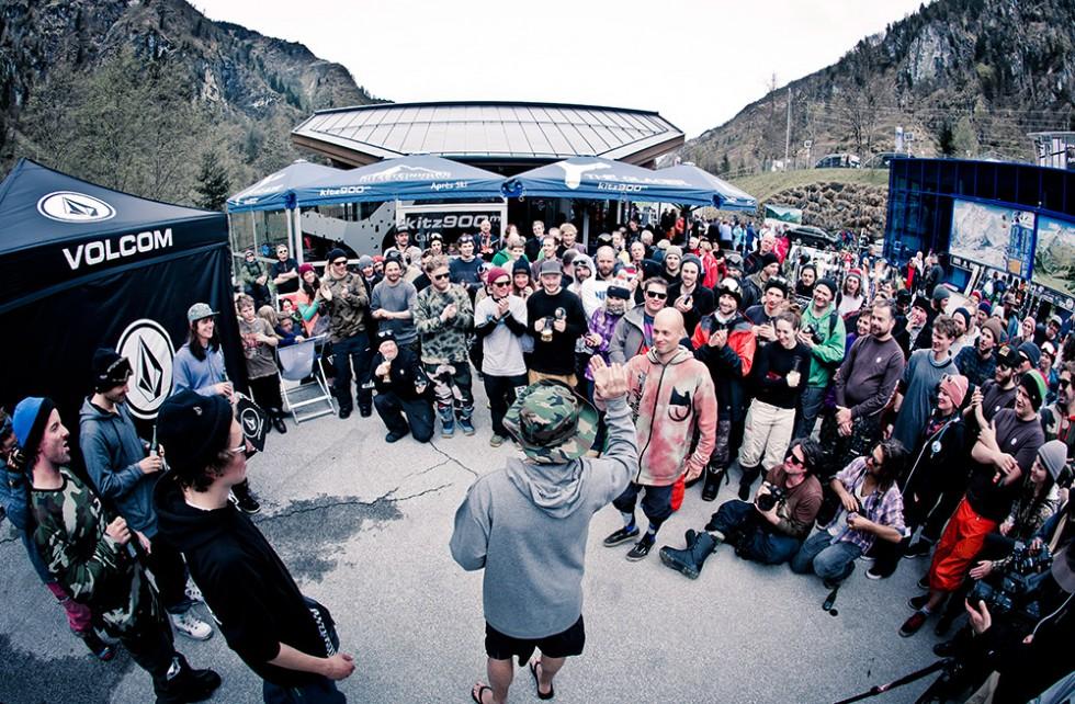 2015 Volcom Kitzsteinhorn Banked Slalom