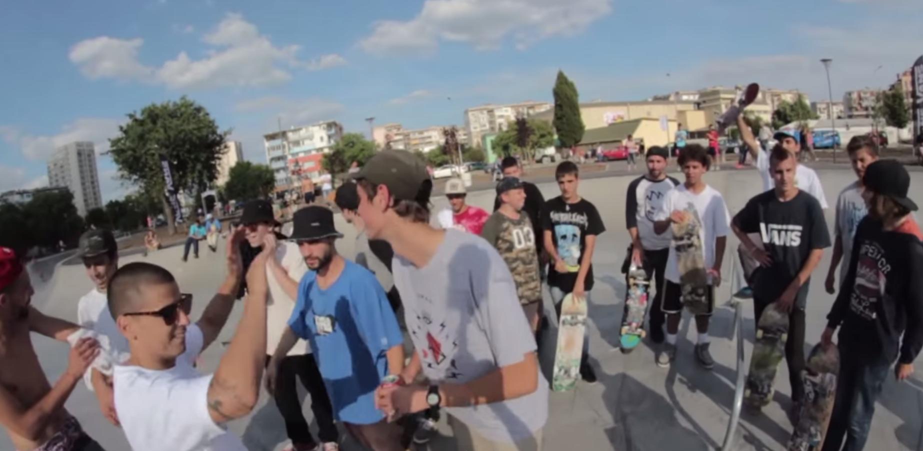 Skate Session Burgas (ВИДЕО)