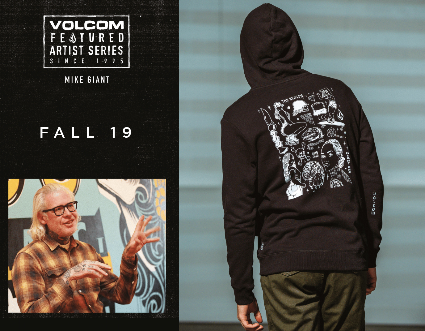 Volcom x Mike Giant