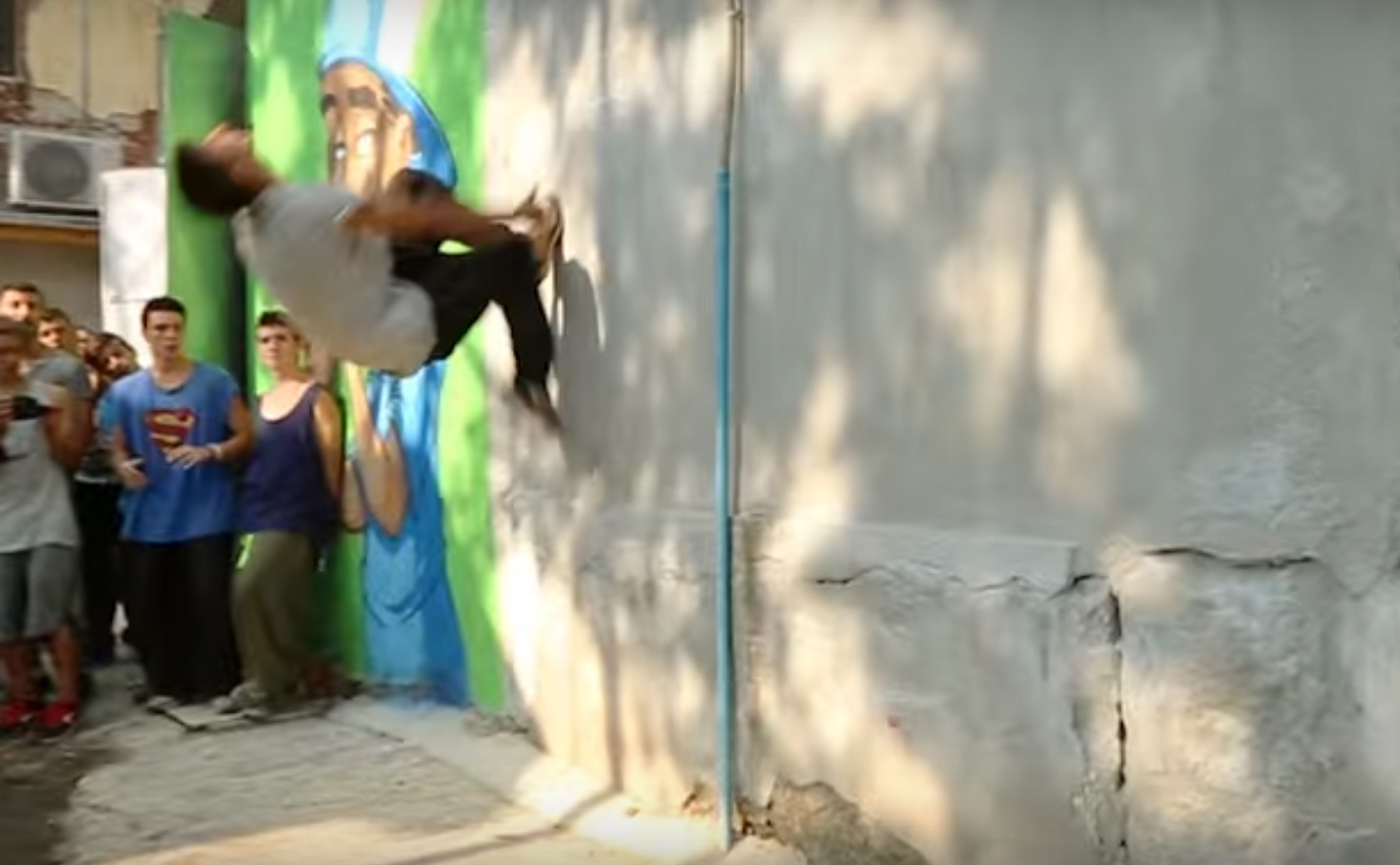 Total Mess Jam - Freerun & Parkour (the video!)