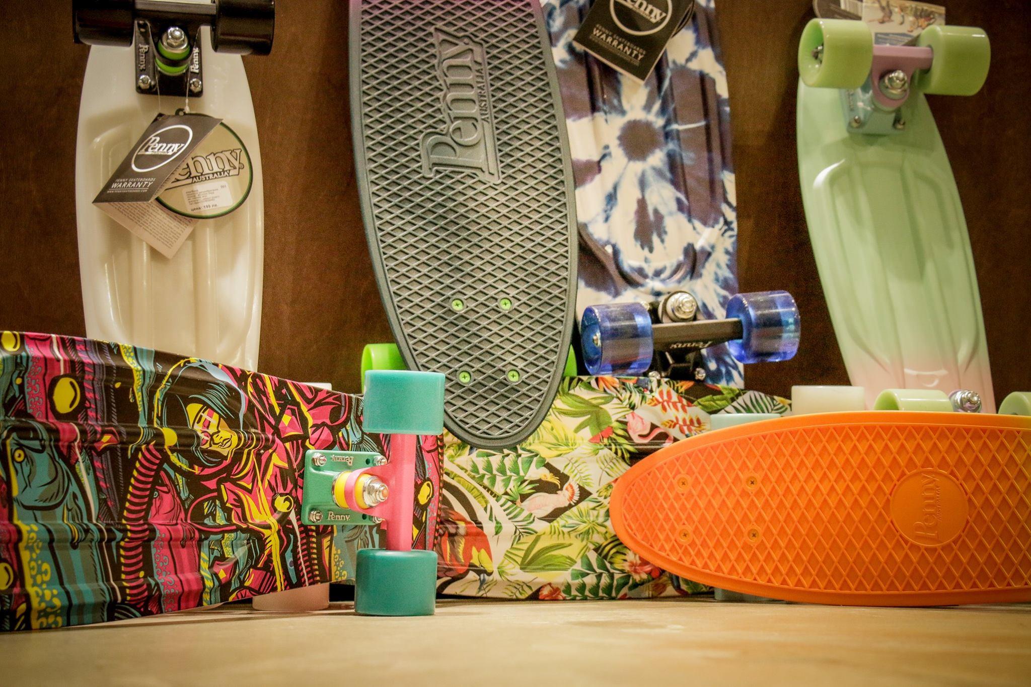 Penny Skateboards в Contrabanda