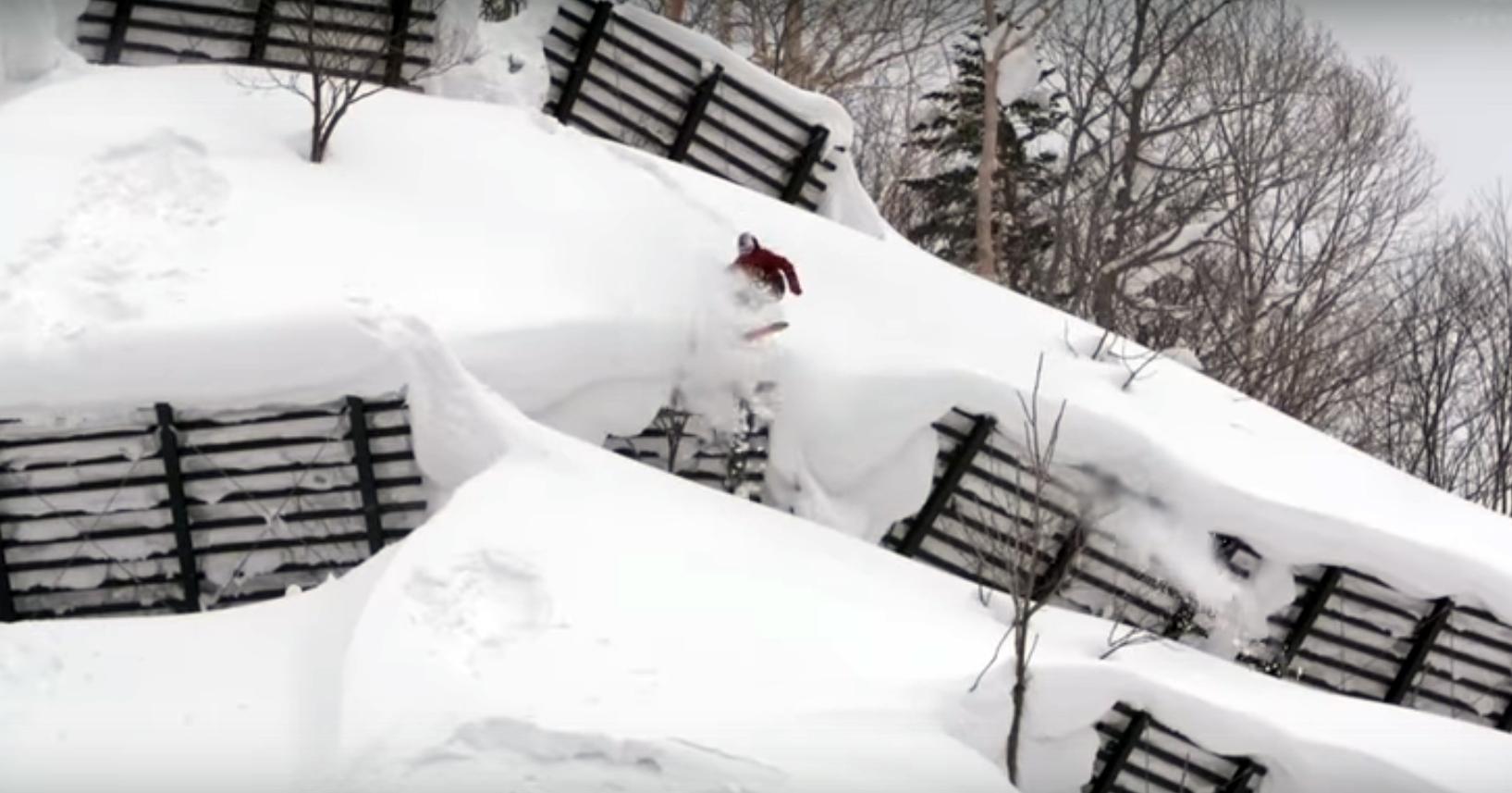 First Layer Japan: 10-минутен сноуборд филм на VANS