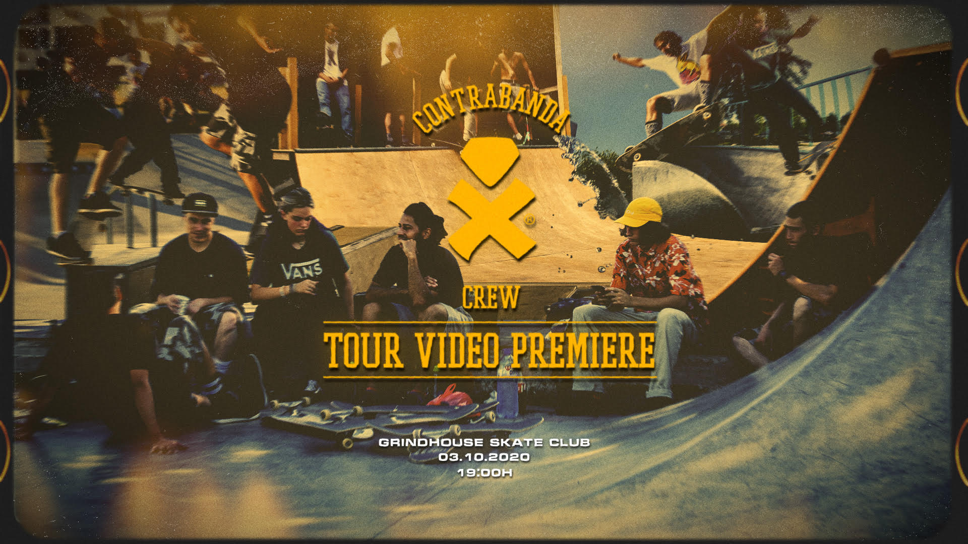 Contrabanda Crew Tour Video Premiere