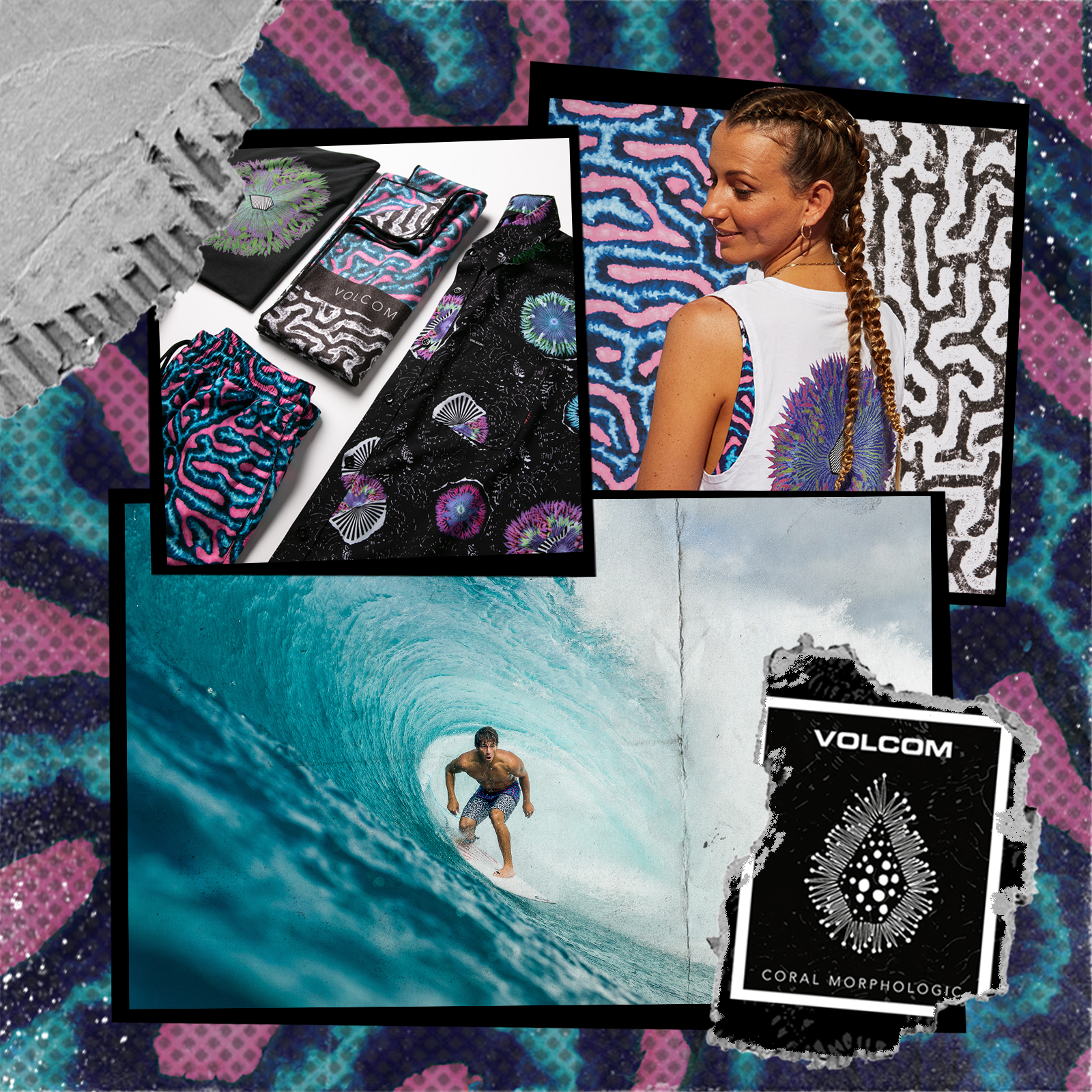 Volcom Coral Morph Collection