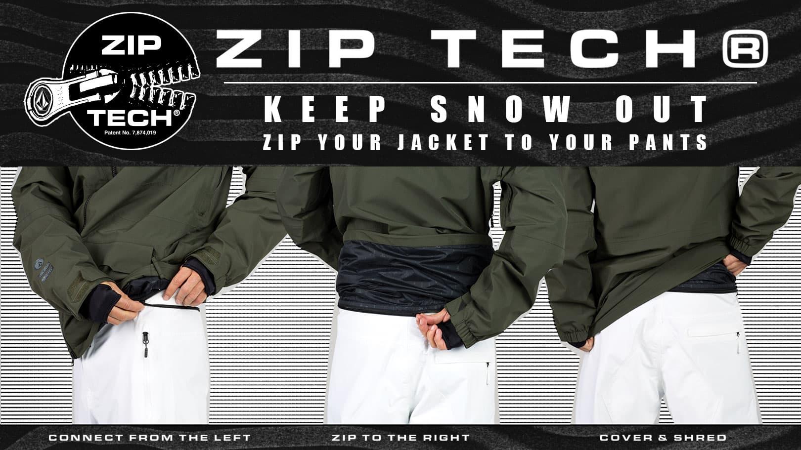 Volcom Zip Tech