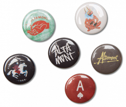 SHRAPNEL BUTTON PACK